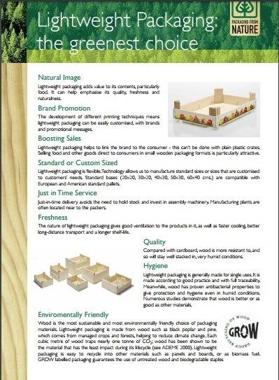 Lightweight packaging: the greenest Choice